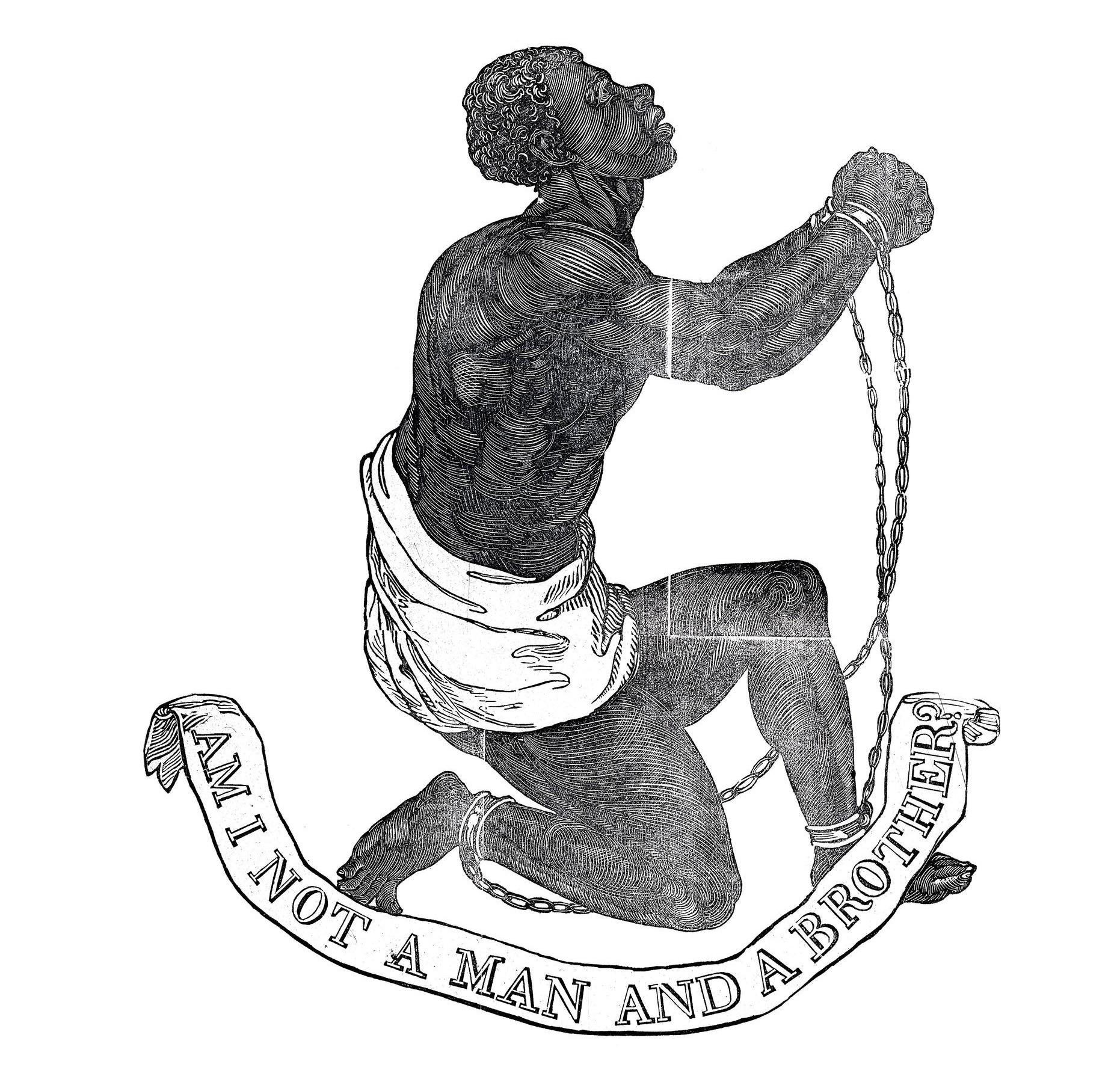 Emblème de la Société pour l'abolition de la traite négrière, 1787