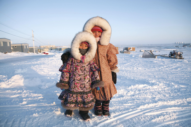 Jeunes filles inuits