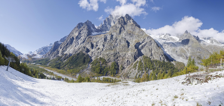 Les hautes montagnes