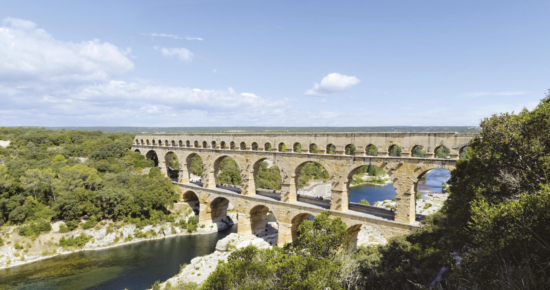 Pont-aqueduc romain du Gard
