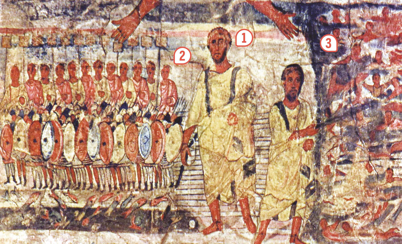 L'exode des Hébreux hors d'Égypte