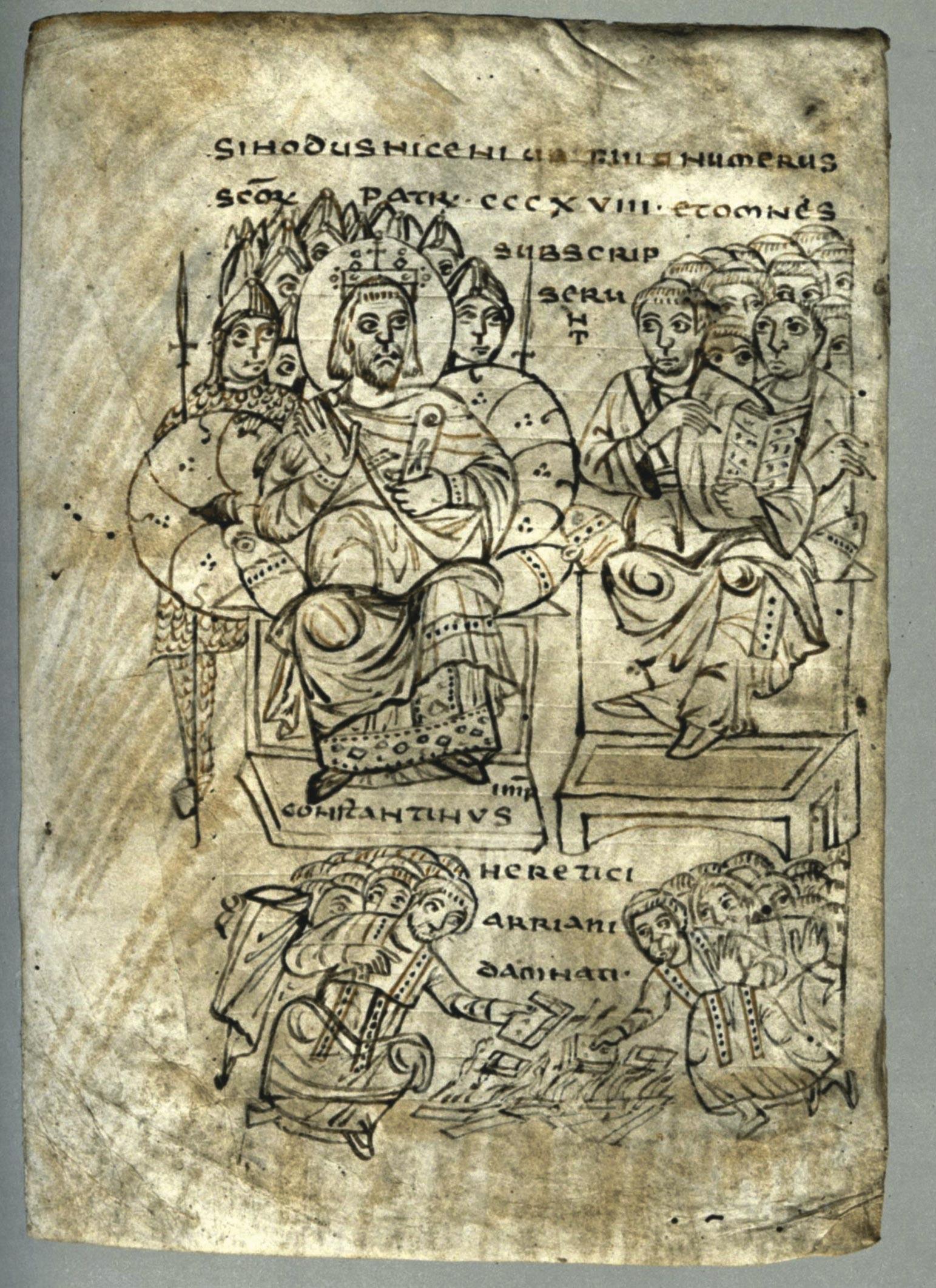 <stamp theme='his-green2'>Doc. 5</stamp> Constantin et les évêques