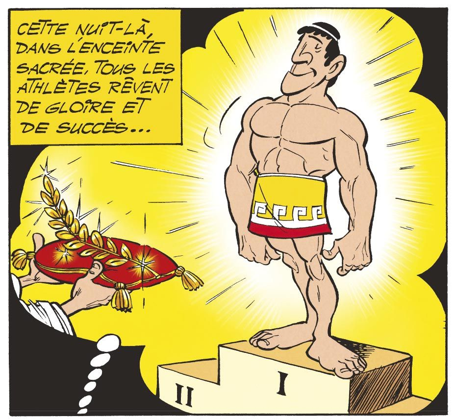 <stamp theme='his-green2'>Doc. 3</stamp> Astérix aux Jeux olympiques