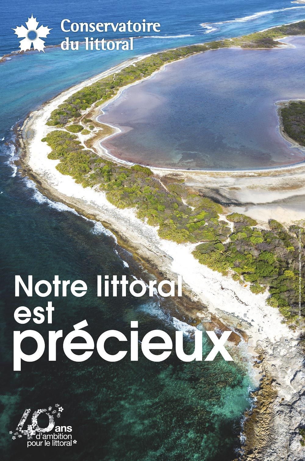 Affiche du Conservatoire du littoral
