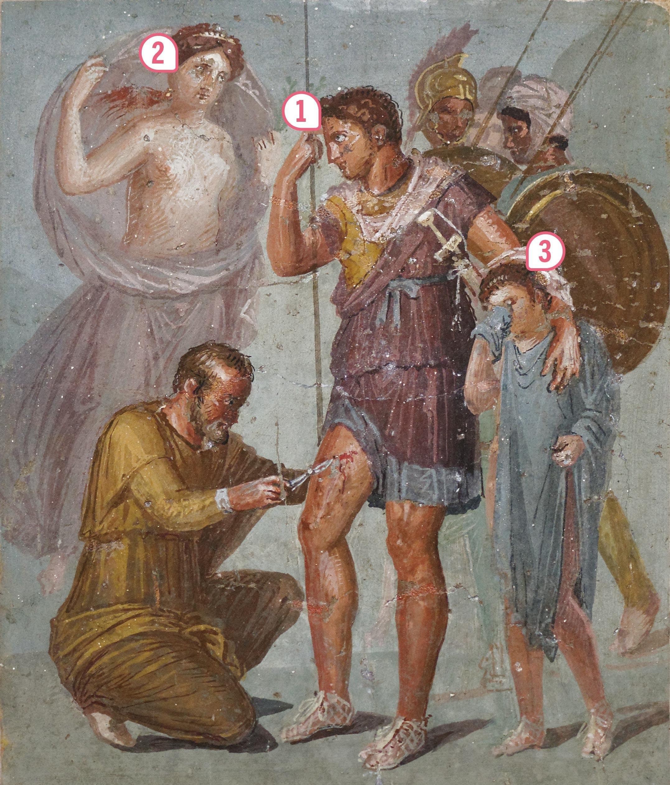 <stamp theme='his-green2'>Doc. 2</stamp> Le héros troyen Énée en Italie