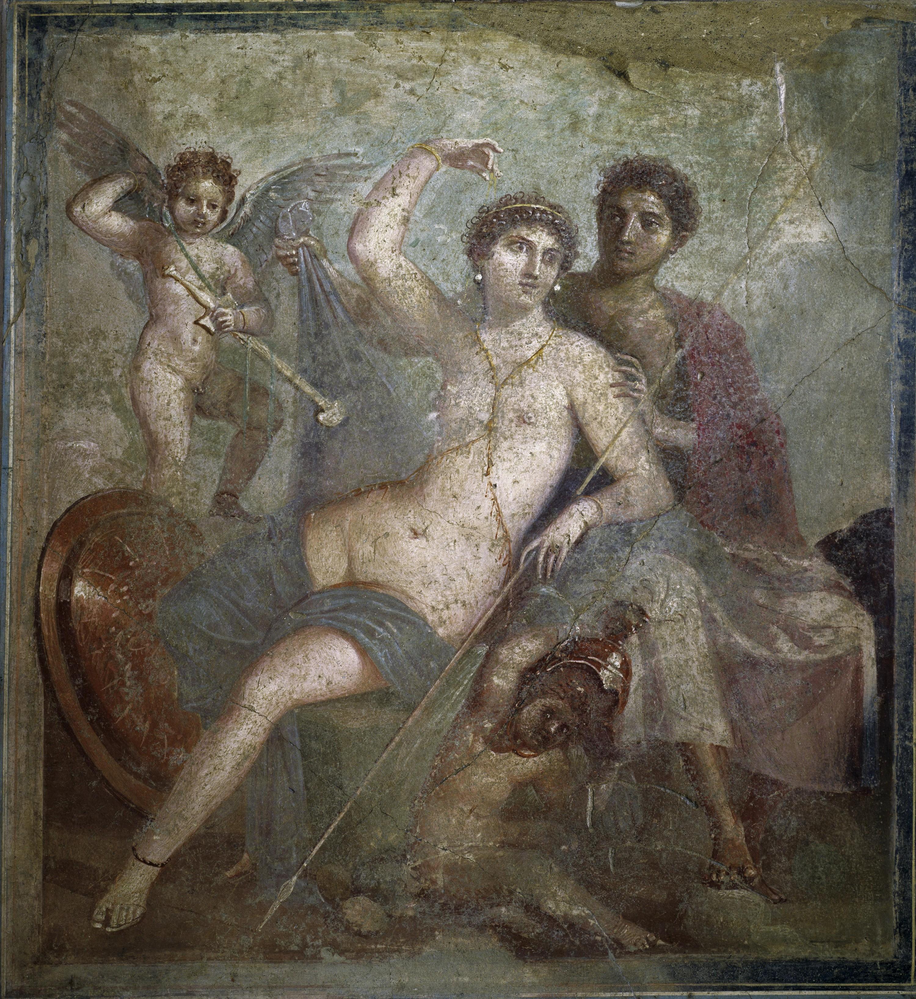 <stamp theme='his-green2'>Doc. 4</stamp> Les dieux romains dans l' Énéide