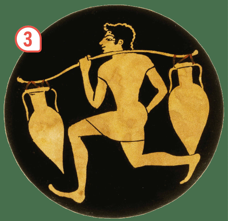 <stamp theme='his-green2'>Doc. 4</stamp> Les habitants d'Athènes et leurs activités