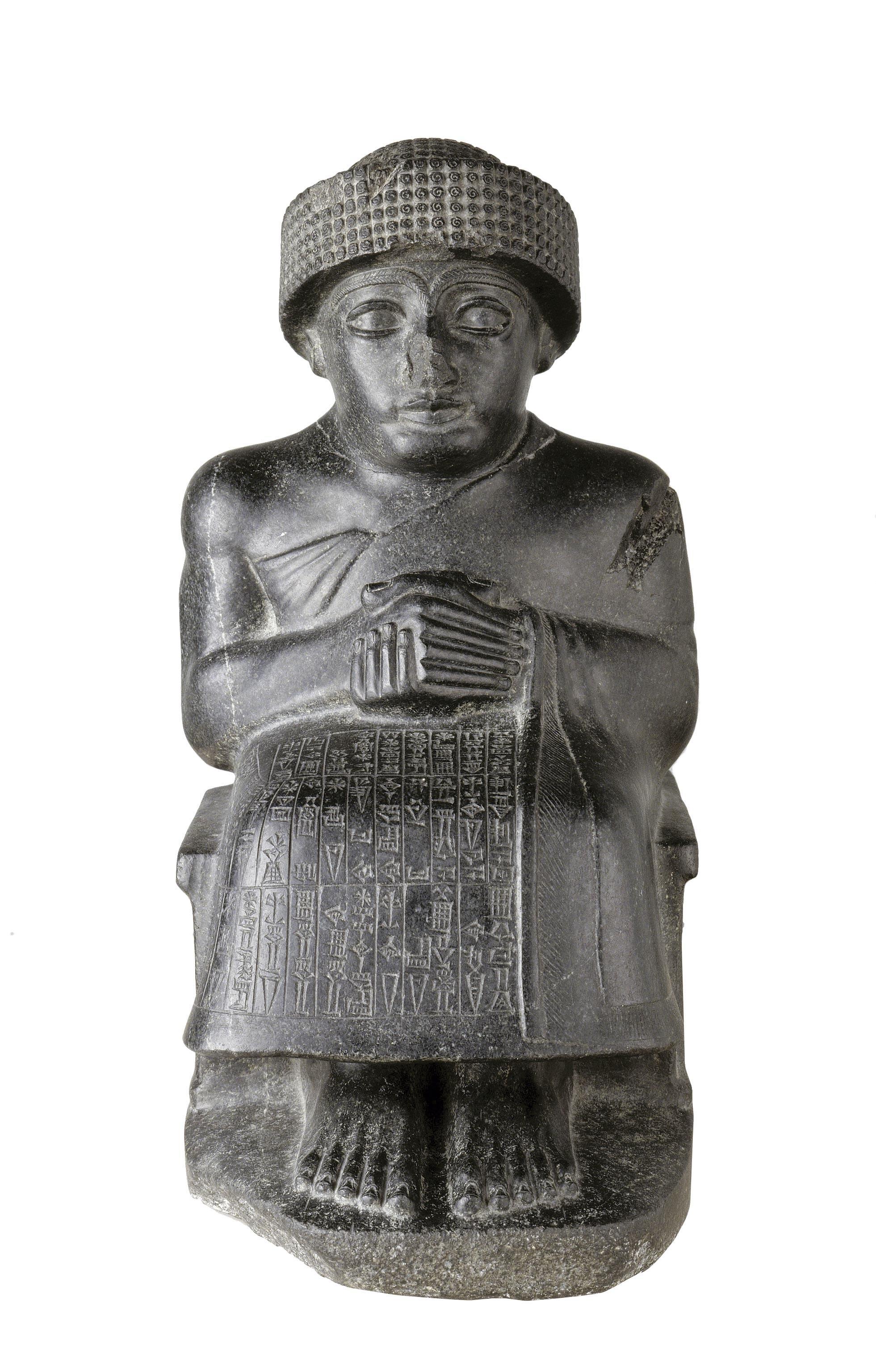 Le roi Gudéa