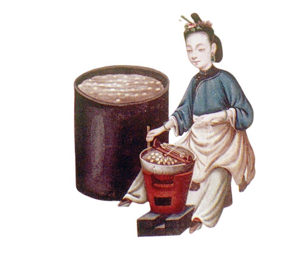 Élevage des vers à soie en Chine