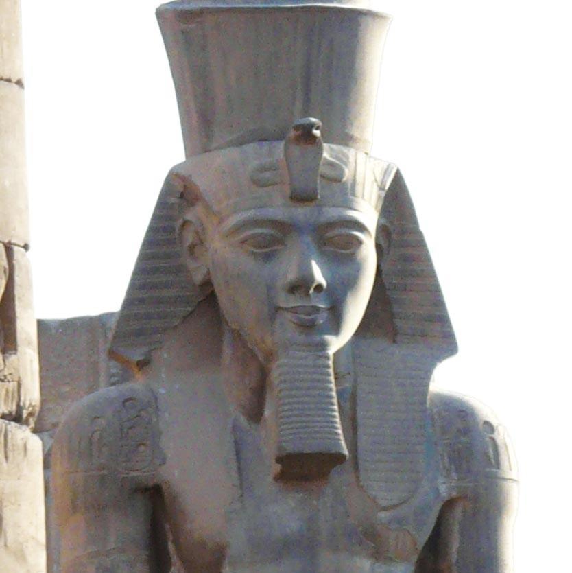 Ramsès II (vers 1304 avant J.-C. - 1213 avantJ.-C.)