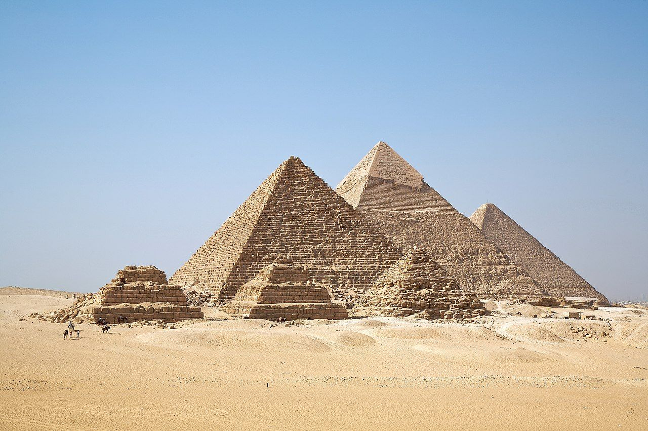 Pyramide de Gizeh (Égypte)
