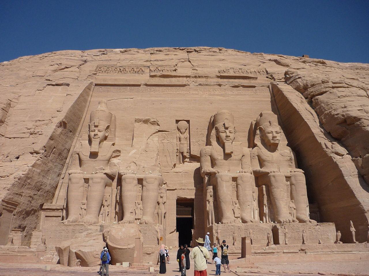 Temple d'Abou Simbel (Égypte)