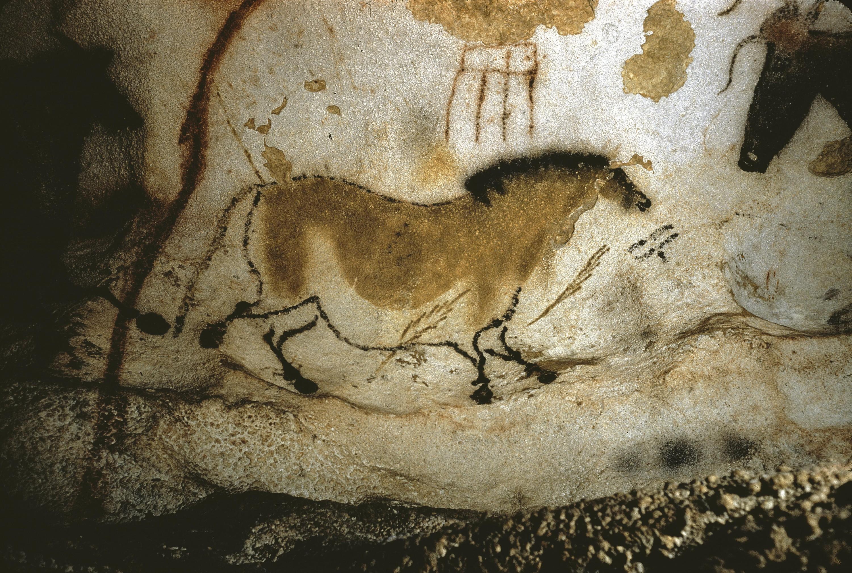 <stamp theme='his-green2'>Doc. 1</stamp> La grotte de Lascaux (France), un exemple d'art pariétal