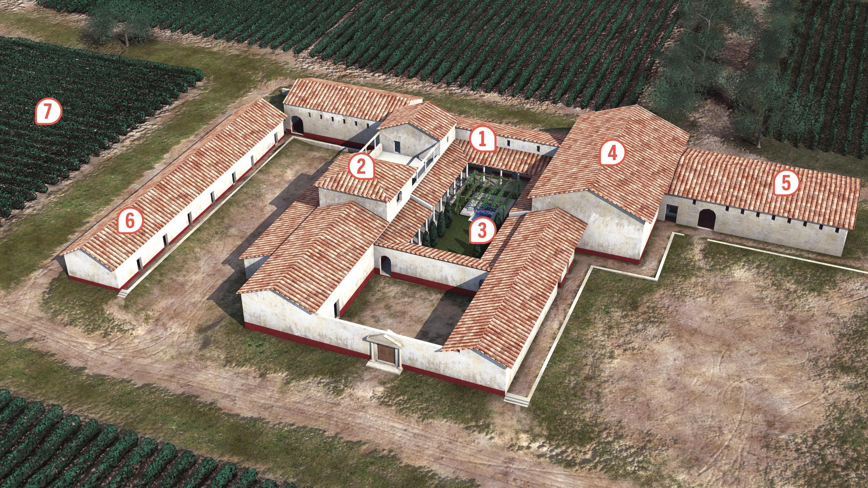 <stamp theme='his-green2'>Doc. 4</stamp> Vivre à la romaine: une villa gallo-romaine en Gaule