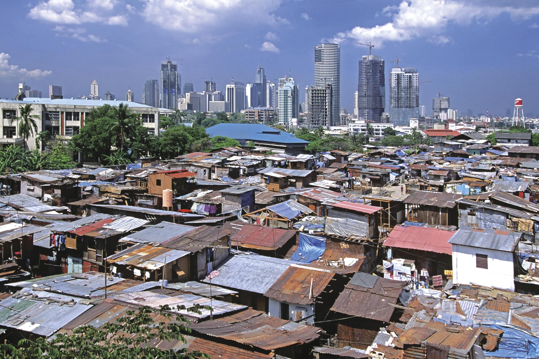 <stamp theme='his-green2'>Doc. 2</stamp> Les inégalités dans une grande métropole d'Asie