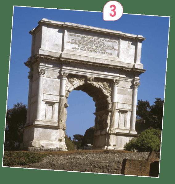 <stamp theme='his-green2'>Doc. 2</stamp> Des monuments à la gloire des empereurs