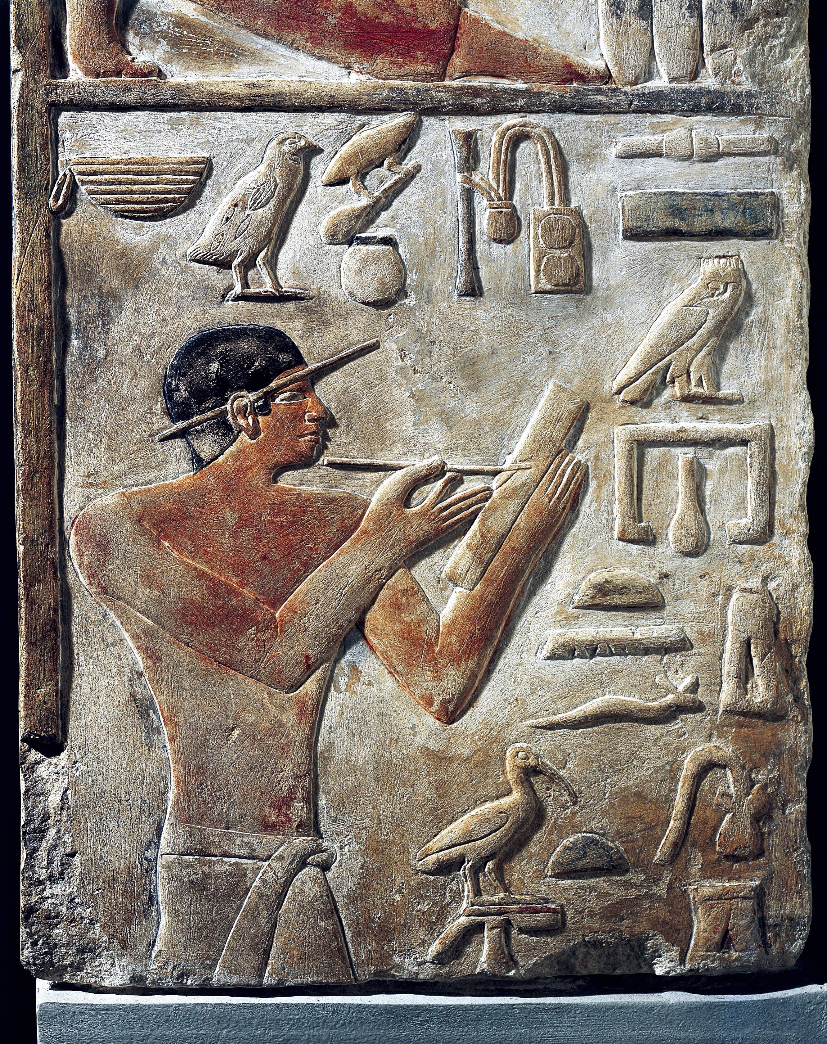 <stamp theme='his-green2'>Doc. 2</stamp> L'écriture en hiéroglyphes