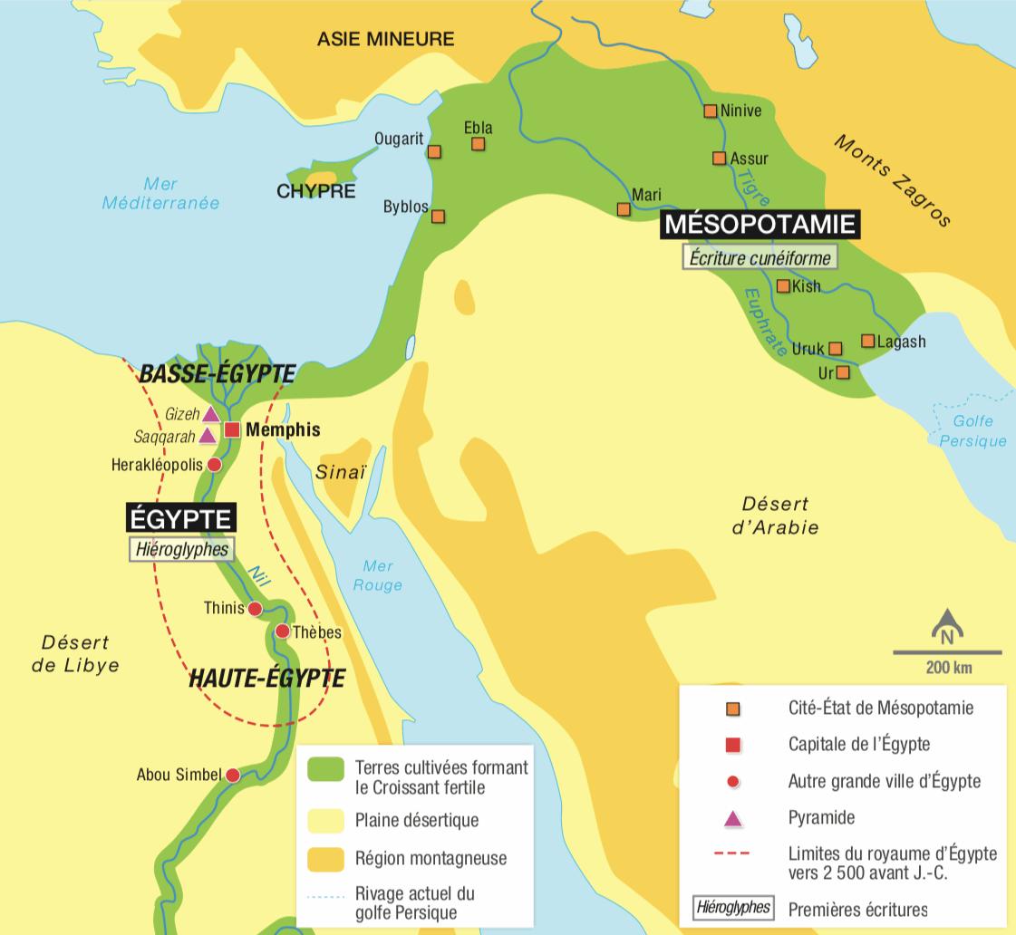 L'Orient ancien au IIIe millénaire avant J.-C.