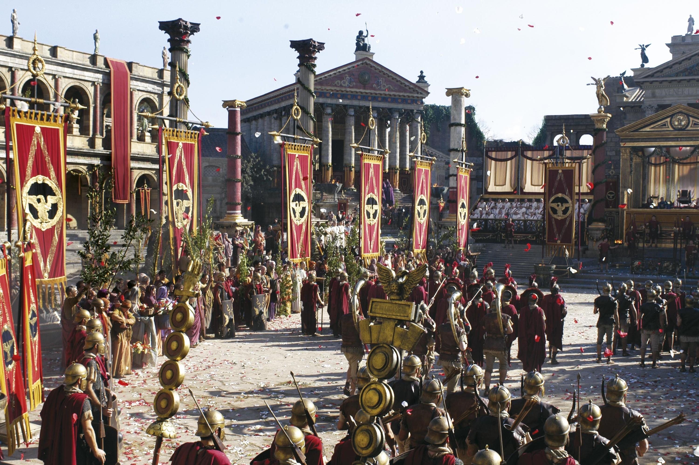Le Forum Romain (reconstitution)