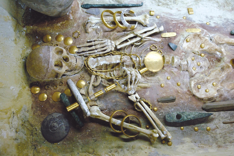 Une tombe de la nécropole de Varna