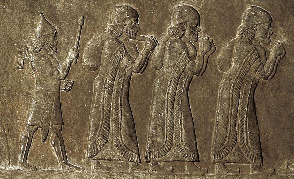 <stamp theme='his-green2'>Doc. 1</stamp> Le royaume d'Israël, menacé puis attaqué par les Assyriens