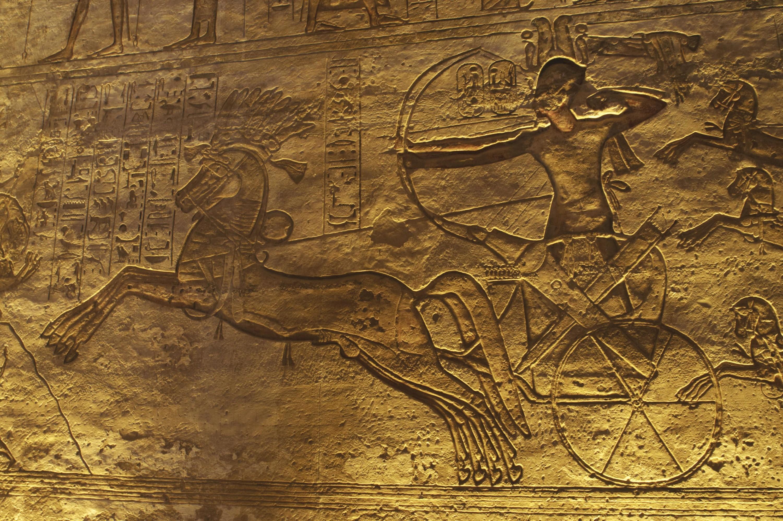 <stamp theme='his-green2'>Doc. 2</stamp> Le pharaon, protecteur et défenseur de l'Égypte