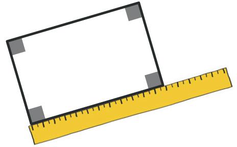 Refaire : Mesurer le périmètre d'un rectangle.