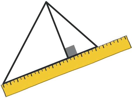 Refaire : Mesurer l'aire d'un triangle.
