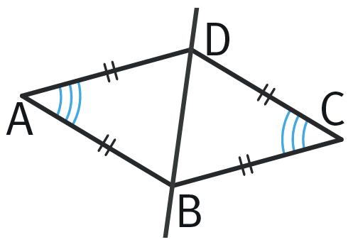 Refaire : Étudier les angles d'un losange.