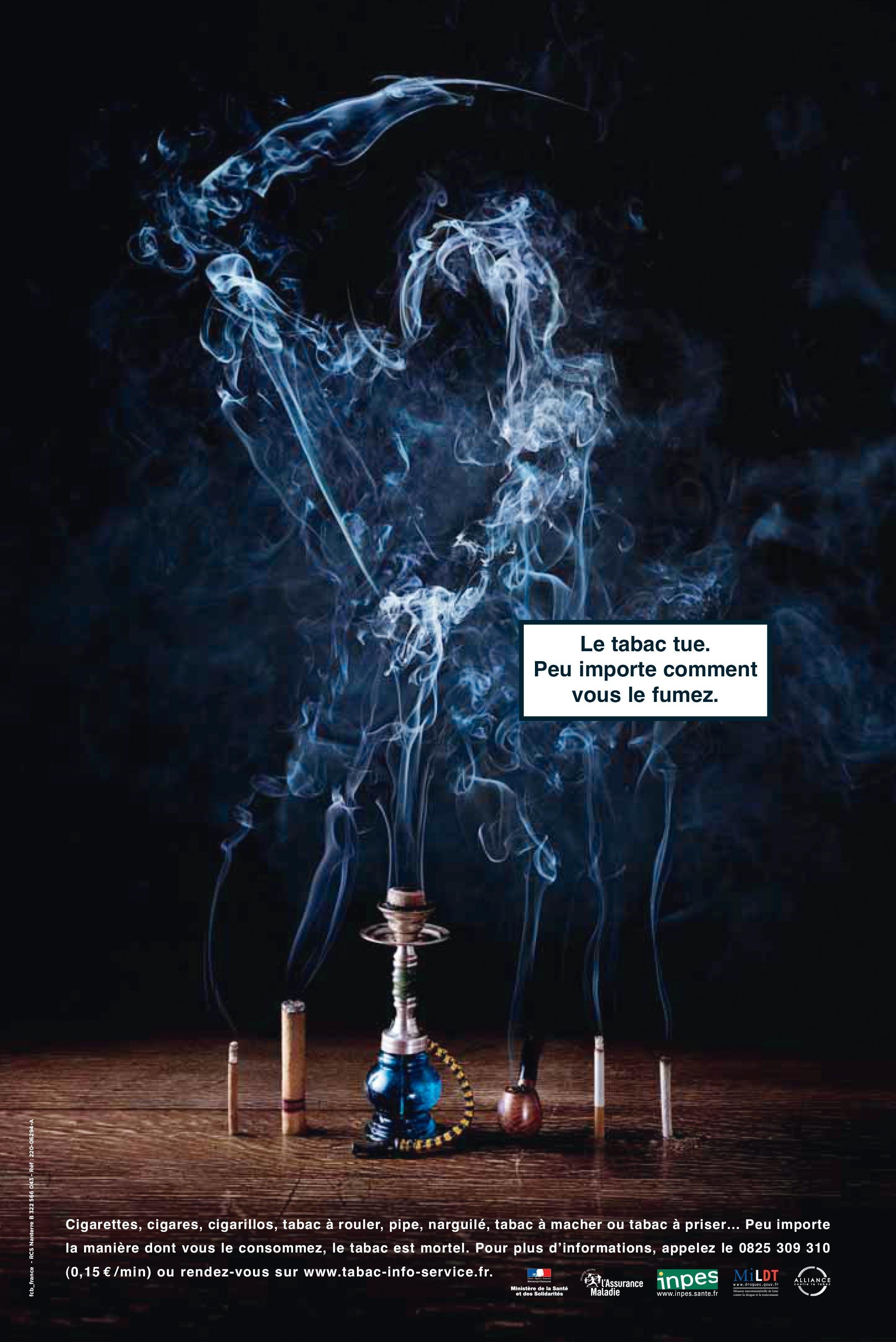 <stamp theme='maths-blue1'>Doc. 1</stamp> Affiche française de la Journée mondiale sans tabac du 31 mai 2006.