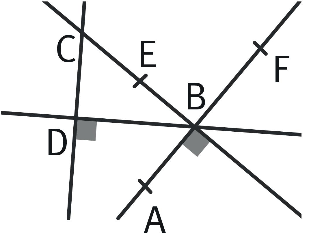 Refaire : Repérer des triangles rectangles.