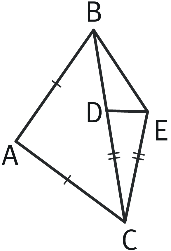 Refaire : Repérer des triangles isocèles.