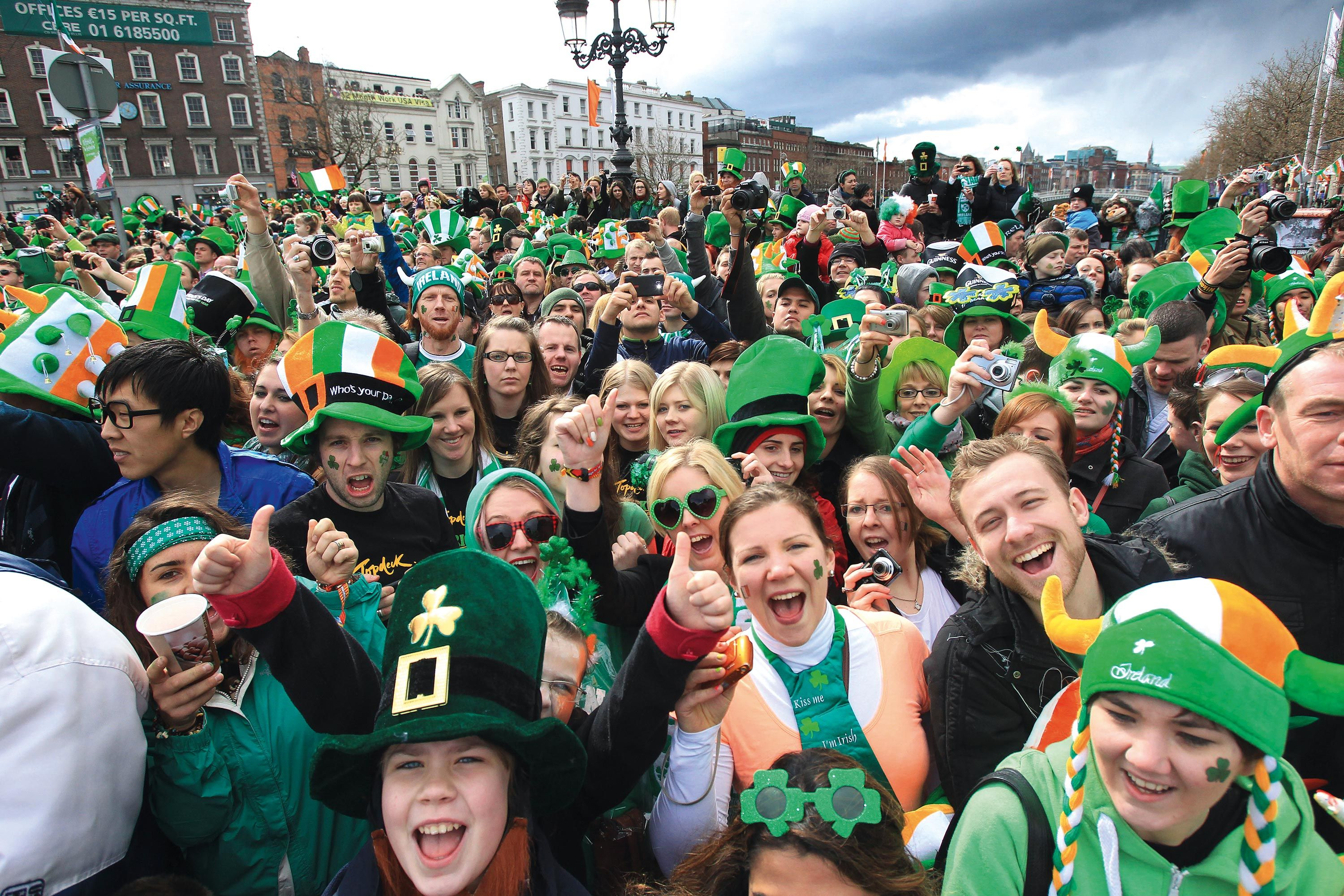 Saint Patrick's celebrations around the worl