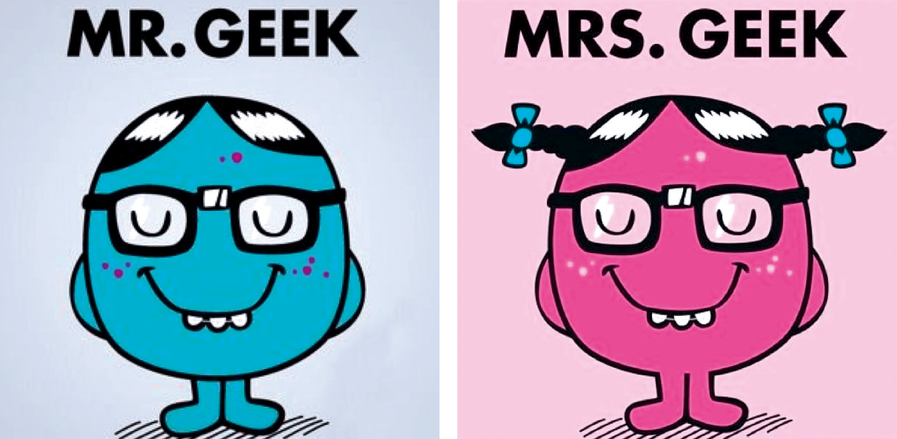 Mr. Geek & Mrs. Geek