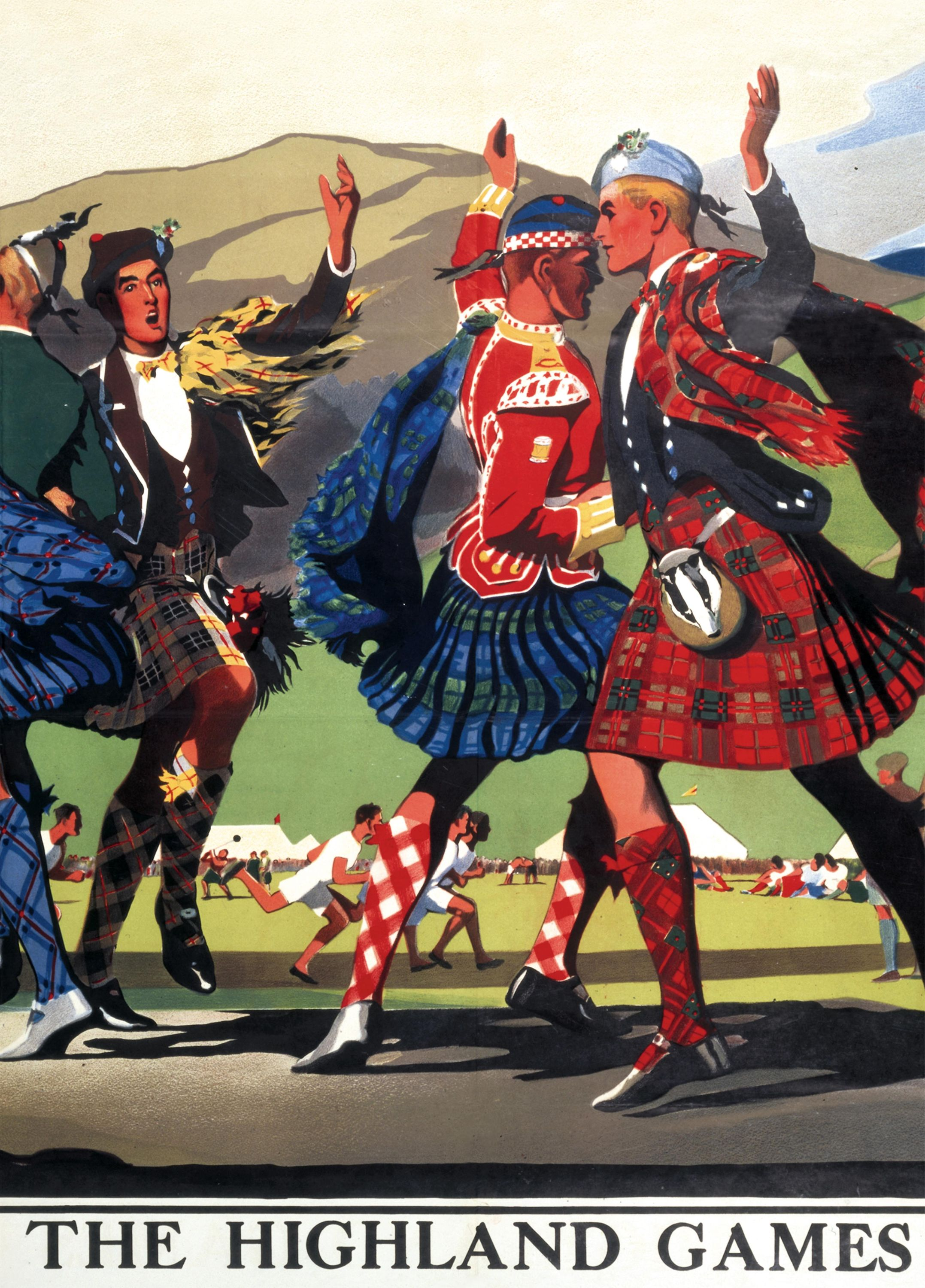 LMS Railway Highland Games