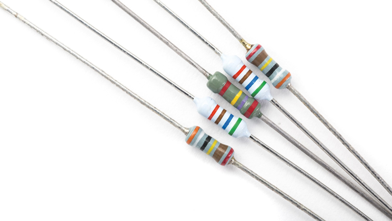 <stamp theme='pc-green1'>Doc. 2</stamp> Résistors utilisés dans les circuits électriques.