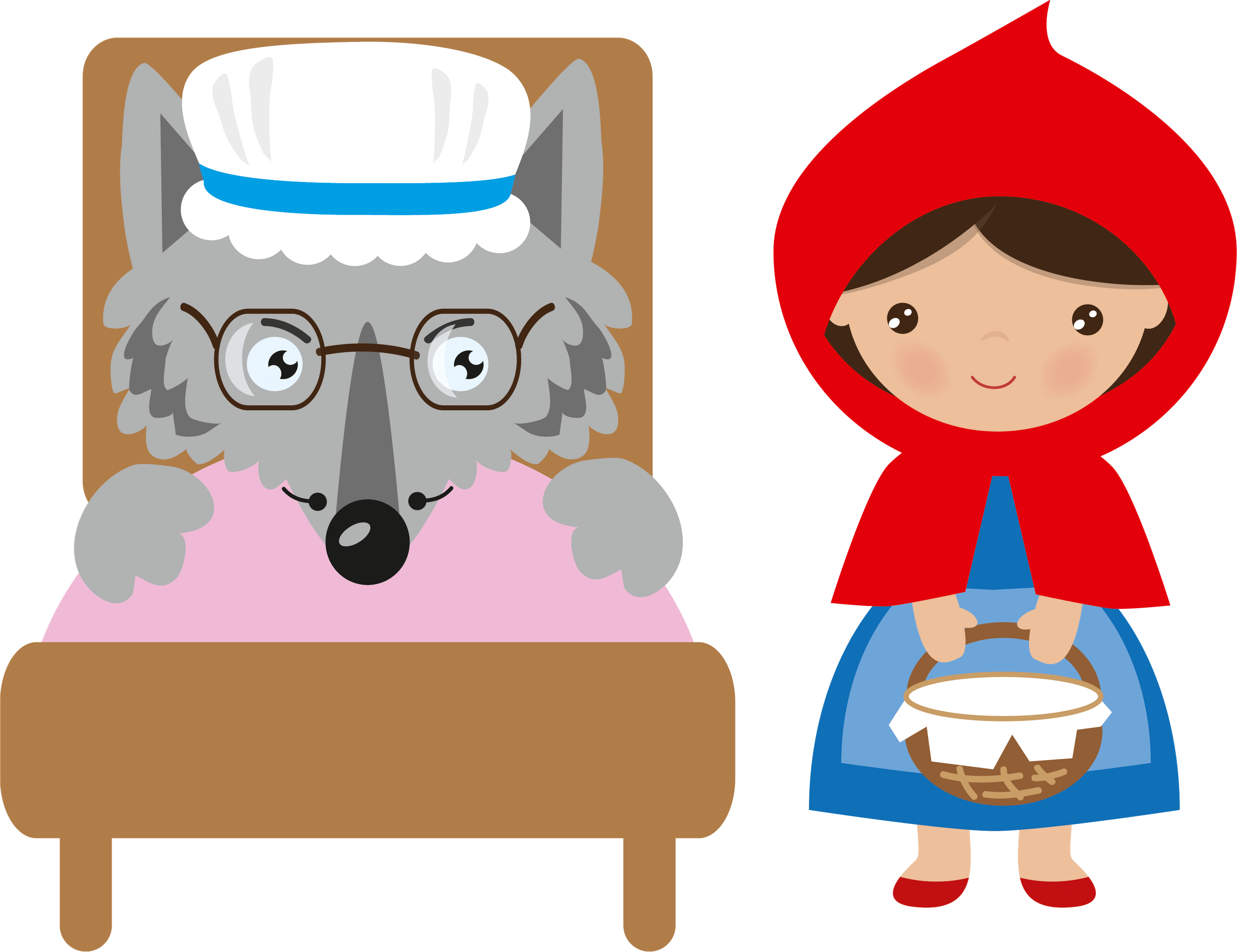 <stamp theme='esp-blue'>Doc. 6</stamp> a) Little Red Riding Hood