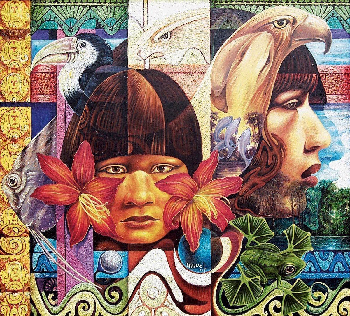 <stamp theme='maths-pink'>Doc. 2</stamp> Espíritus femeninos del Amazonas