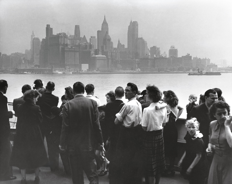 Arrivée d'immigrants à Ellis Island