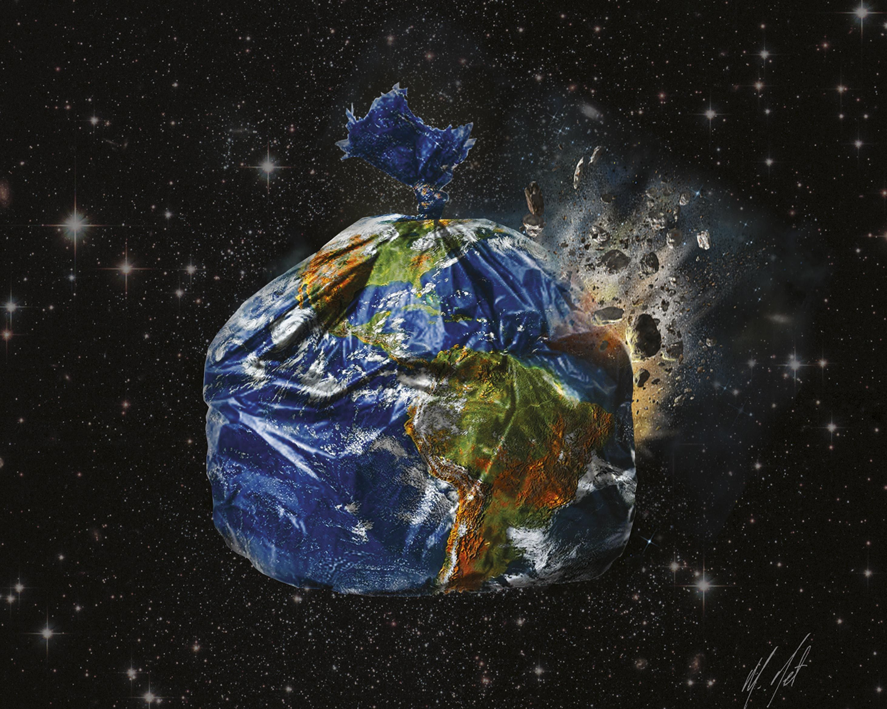 Trashed Earth