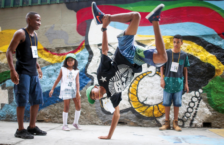 Battle de street dance