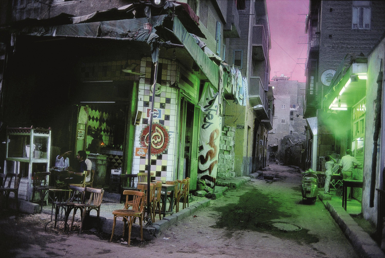 Une rue habituellement animée se vide vers la fin du ramadan
