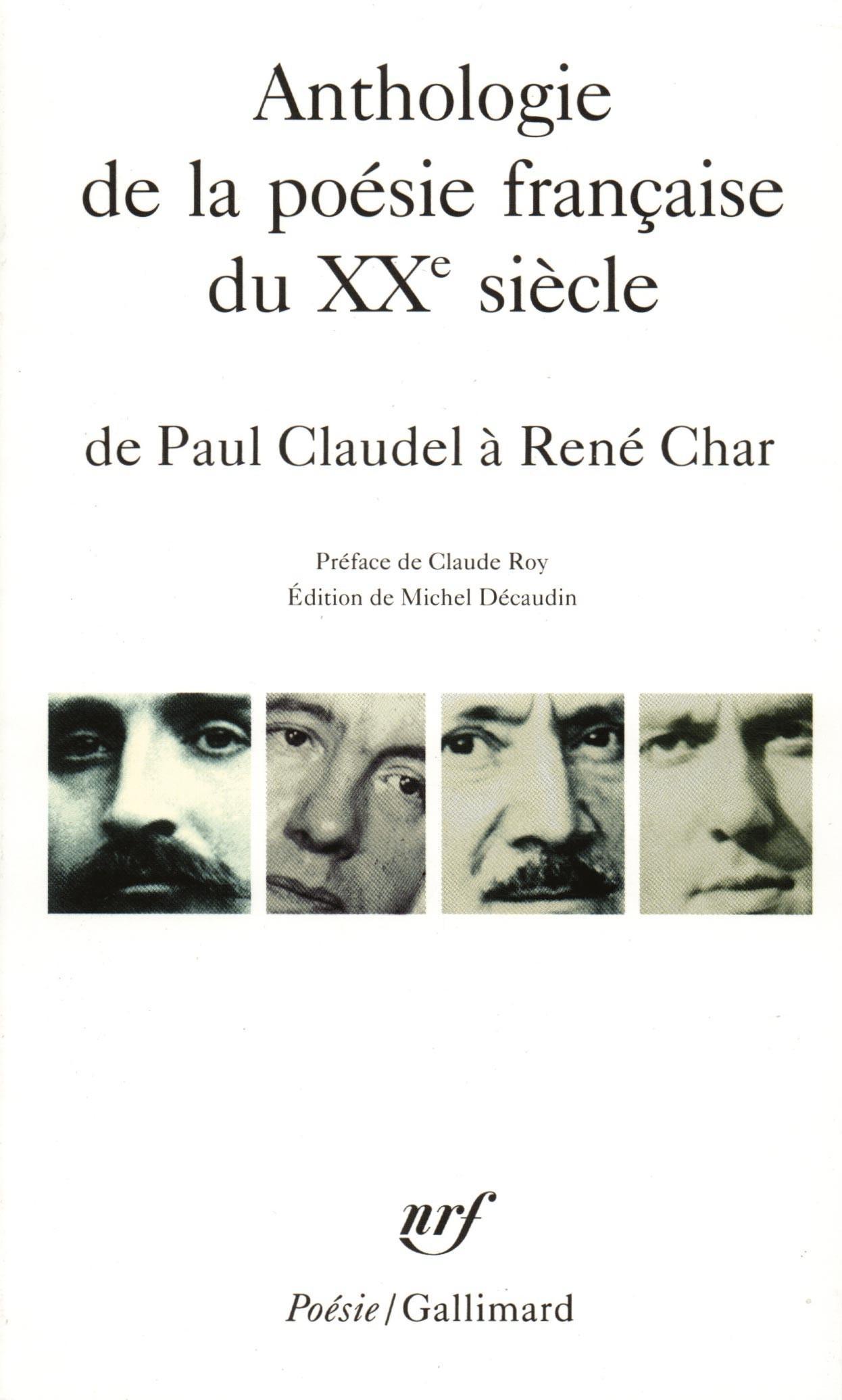 Anthologie de la poésie française du XXᵉ siècle