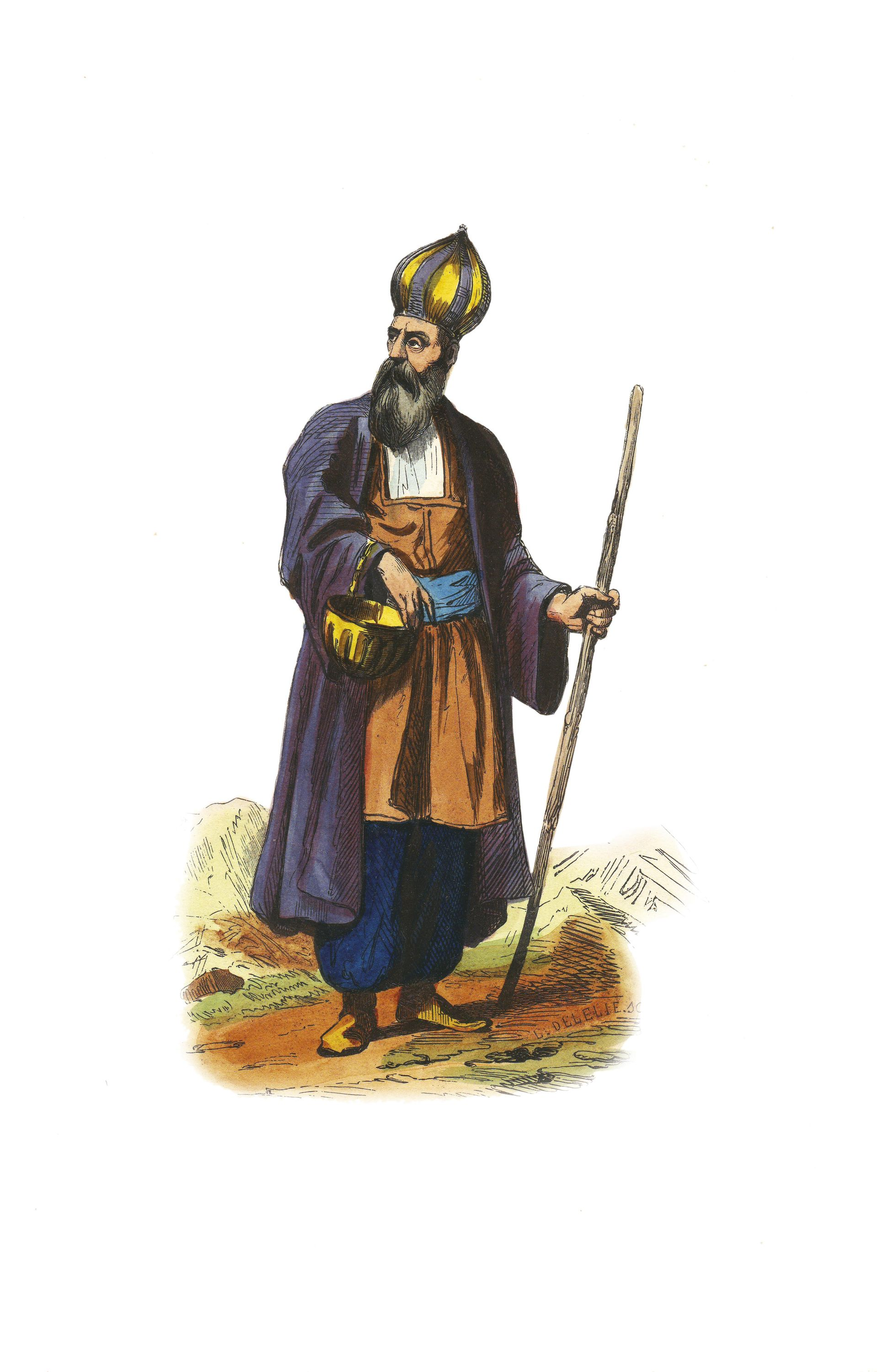 Derviche de Perse