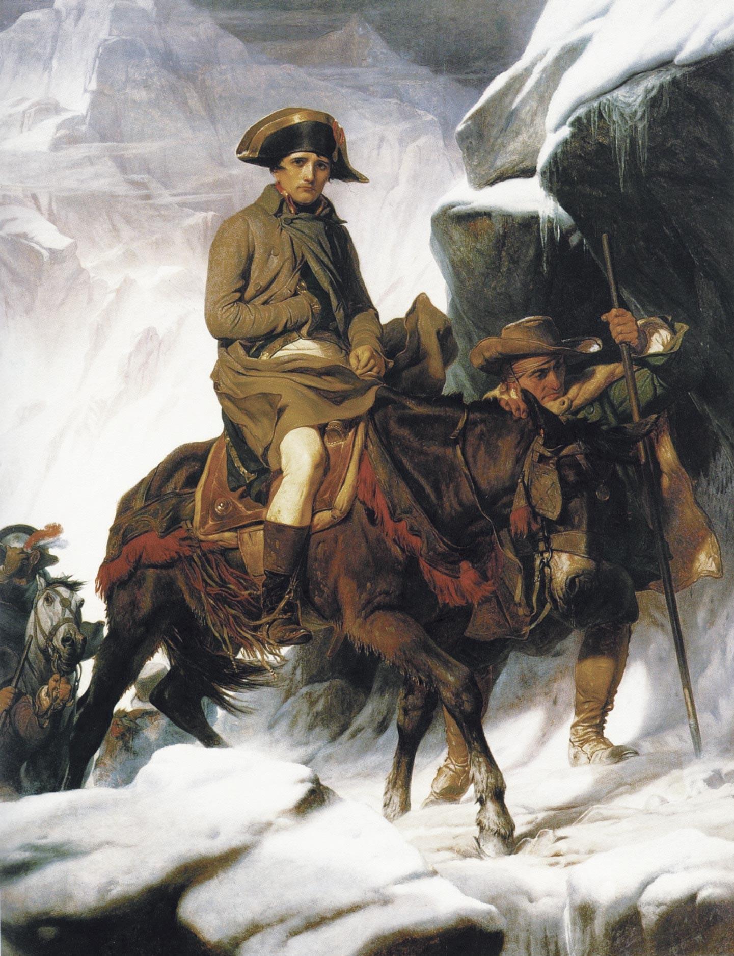 Bonaparte franchissant les Alpes