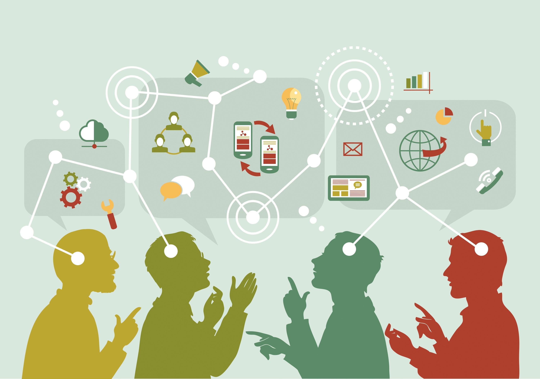 La multiplication des moyens de communication à l'heure du digital