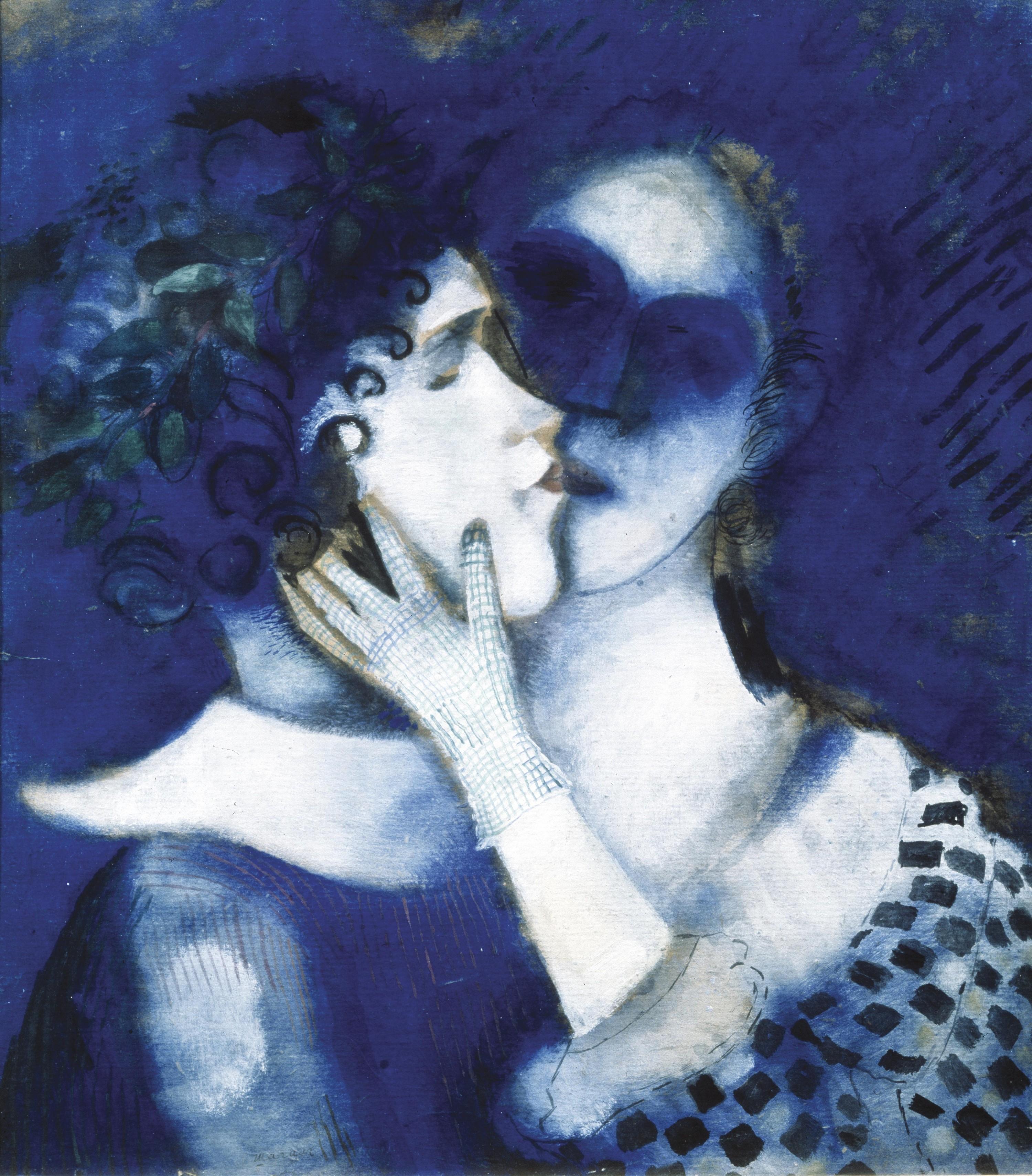 Les amants bleus