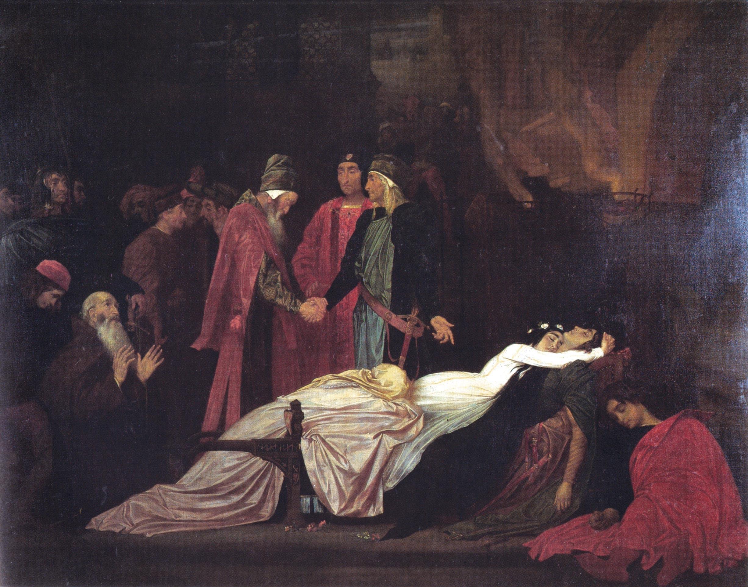 La Réconciliation des Montaigu et des Capulet