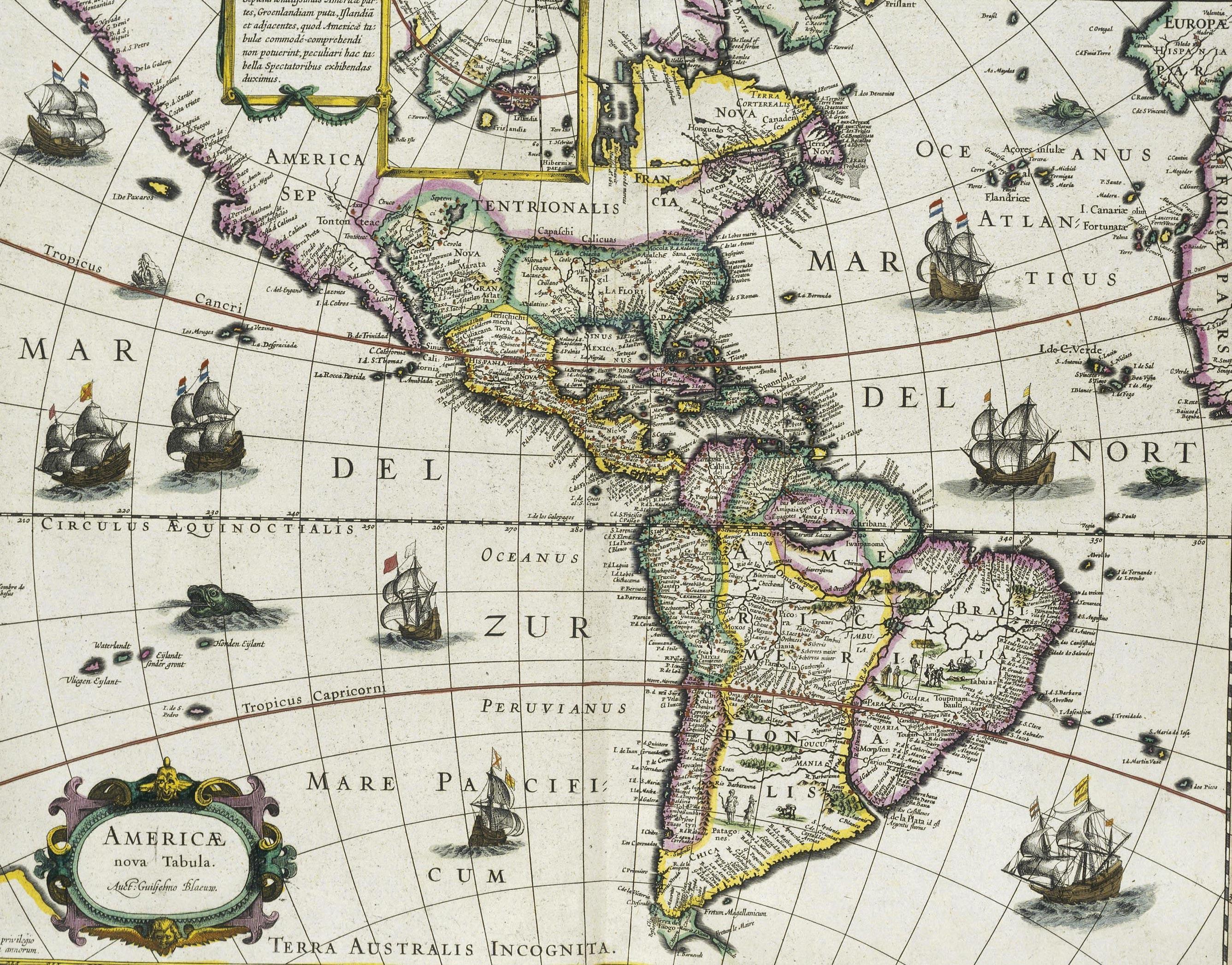 Atlas (carte des Amériques)