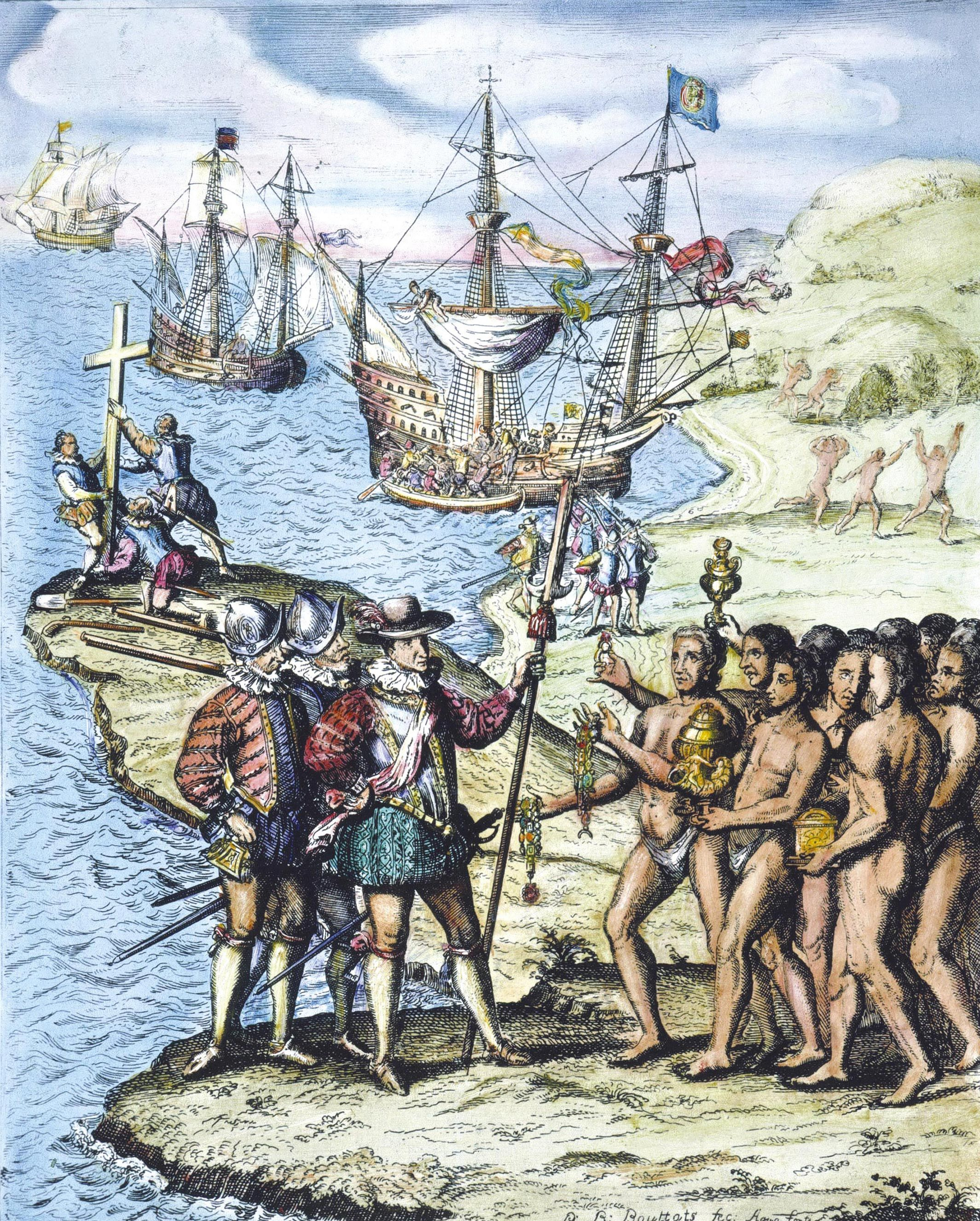 Colomb à Hispaniola